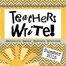 It's time for Teachers Write!