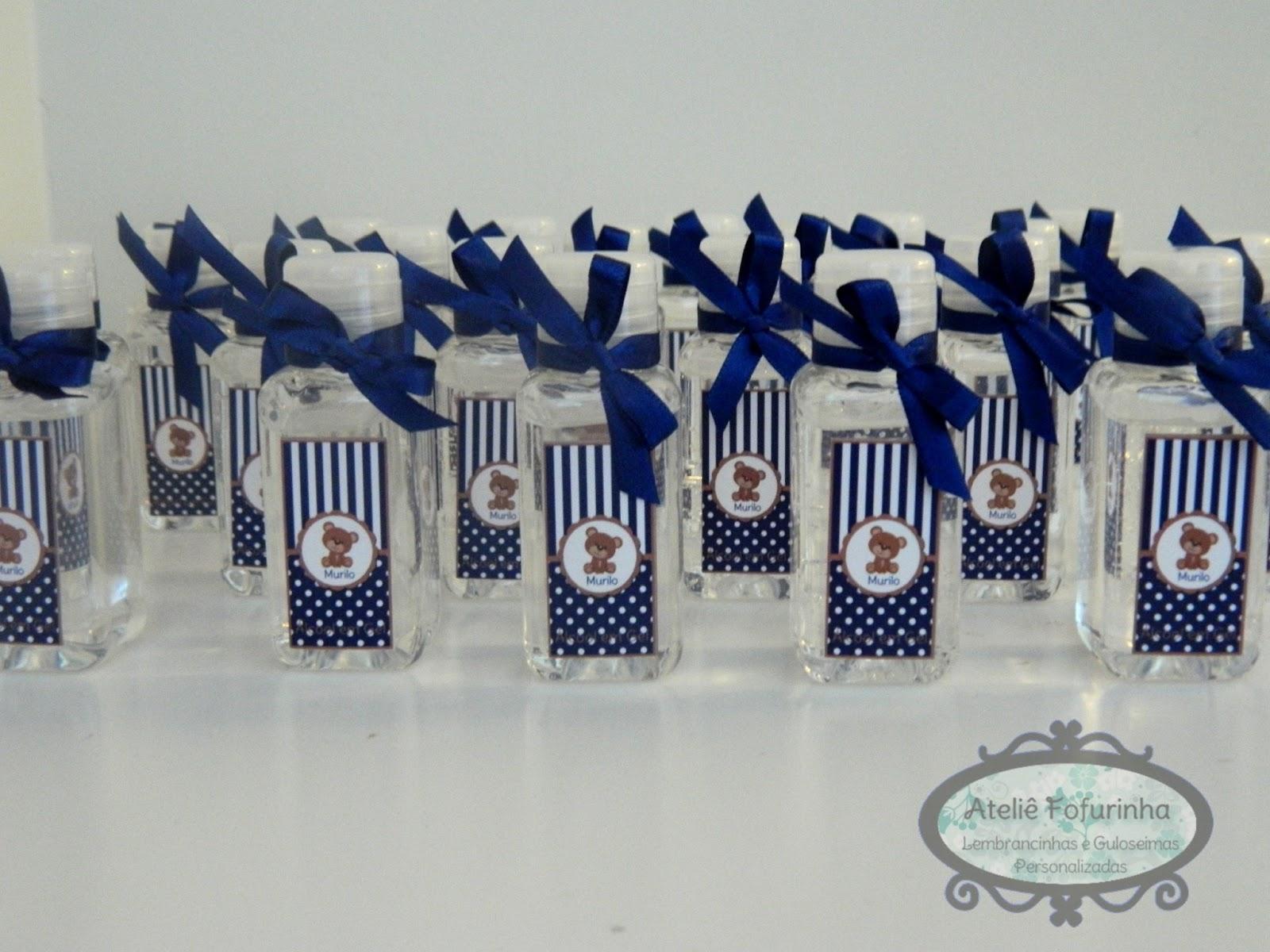 Fabuloso Ateliê Fofurinha: Lembrancinha de Maternidade - Álcool Gel com  NG43