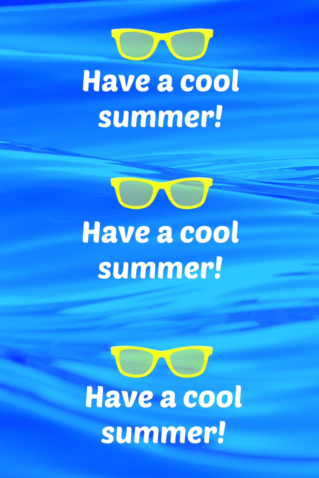 Unusual image for have a cool summer printable