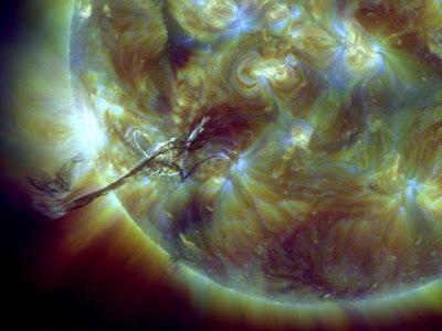 LLAMARADA SOLAR CLASE M1.0, 31 DE AGOSTO 2012