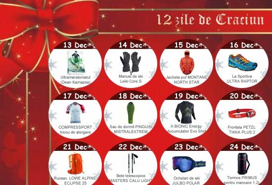 Promoţii de sărbători. 12 zile de Crăciun pe 360SPORT