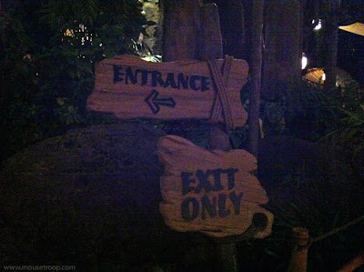 Disneyland Adventureland After Hours Closed Tarzan's Treehouse