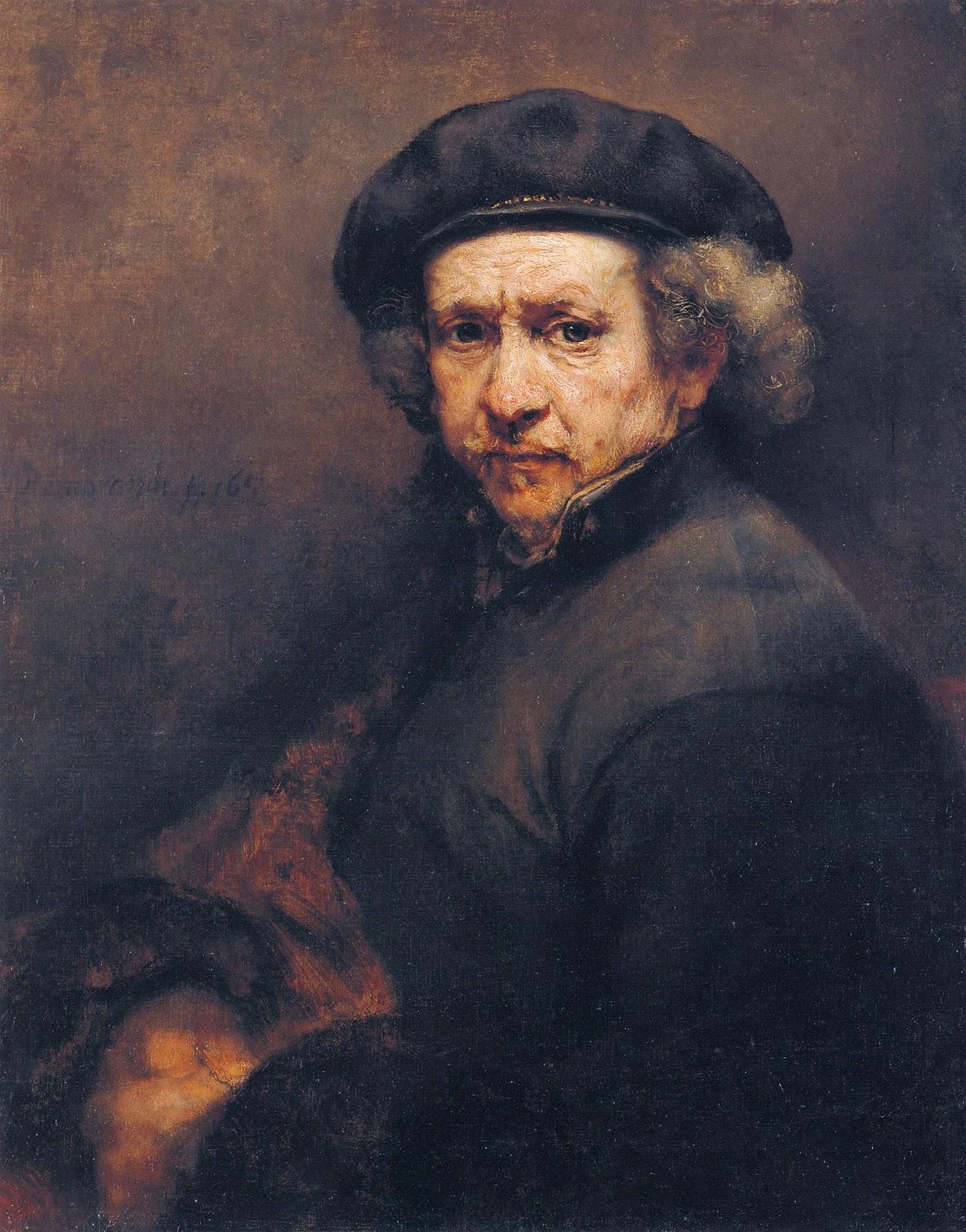 Rompedas  Rembrandt Self Portrait
