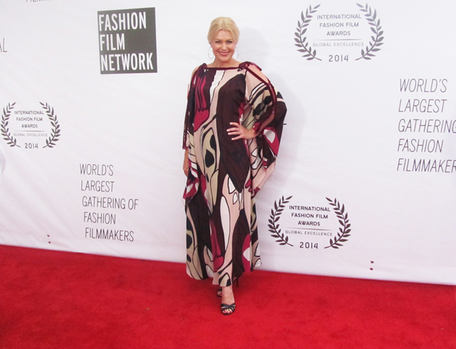 Grand juror at la jolla international fashion film festival 2014