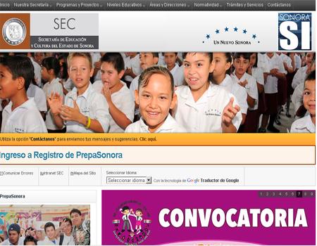 Convocatoria  Ingreso Educación Media Superior en Sonora 2013-2014 publicacion registro 11 de Marzo 6 de Mayo