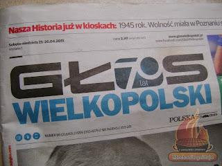 Głos Wielkopolski Mechanik w kuchni Mechanik grilluje Wielkopolska Poznań gazeta artykuł o pasjii grilowania grill BBQ