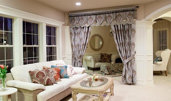 Dekorasi Interior Ruang Keluarga Mewah 2014