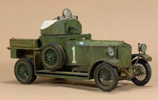 FCModeltips, Federico Collada Rolls Royce 1914