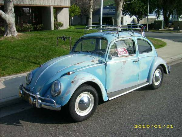 1964 VW Bug With Factory Sunroof