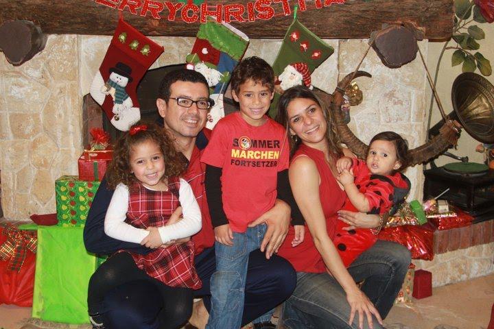 Mohsen Ahmed Mamdouh Abdel-Naiem and Family  محسن احمد ممدوح عبد النعيم وزوجته نادين فاروق وأطفالهم