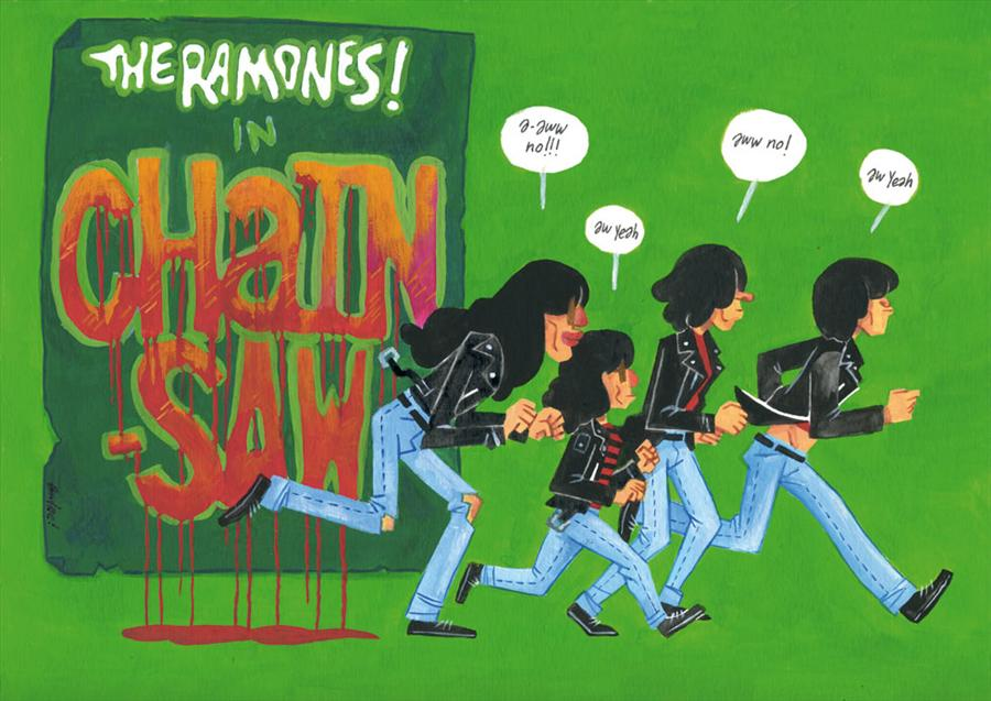 Expo: Ramones: Gabba Gabba Hey | Susanita´s Little Gallery