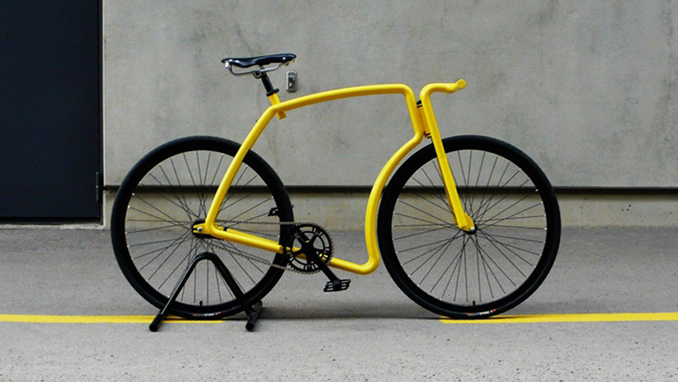 ComeAtMeBro-Daily tech news: This Fixie Uses Two Frames to Make One Bike