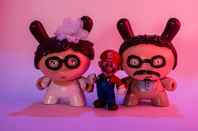 Mario Custom Dunny Wedding