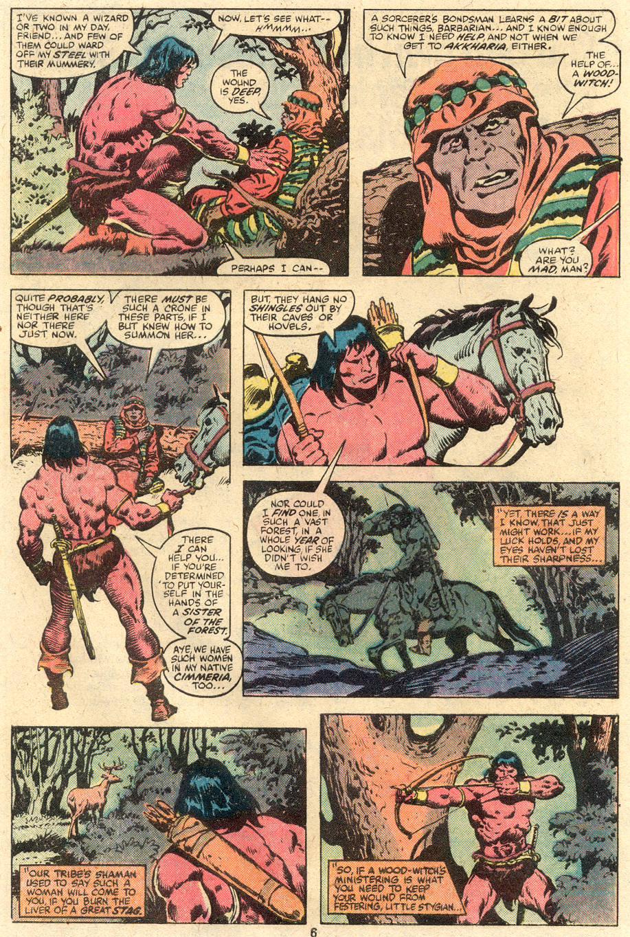 Conan the Barbarian (1970) Issue #113 #125 - English 5