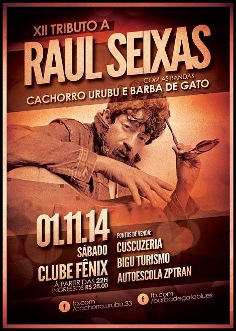 01-11-2014 - XII TRIBUTO A RAUL SEIXAS - Maceió - AL