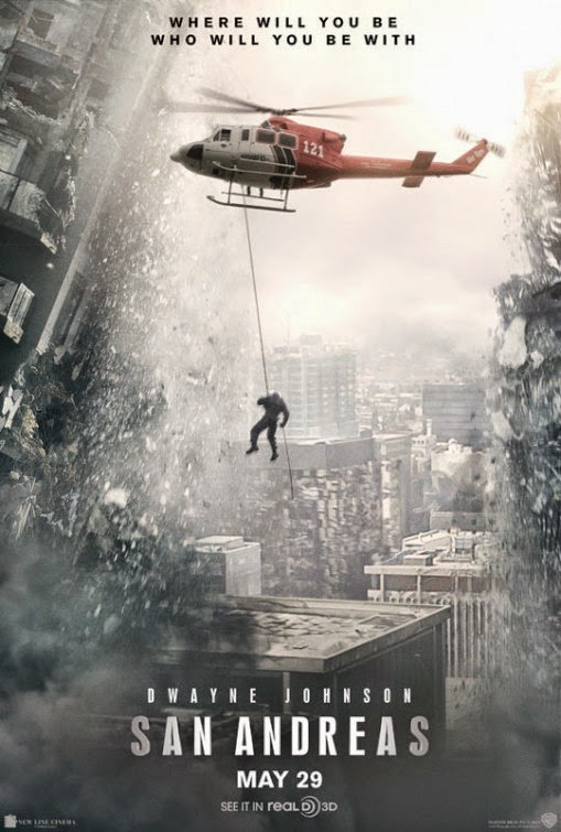 San Andreas 2015 New Movie Poster Dwayne Johnson Kylie Minogue