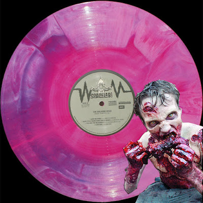 "New York Comic Con 2015 Exclusive The Walking Dead Vol 1 ""Brain & Guts"" Variant LP Vinyl Record by SPACELAB9"