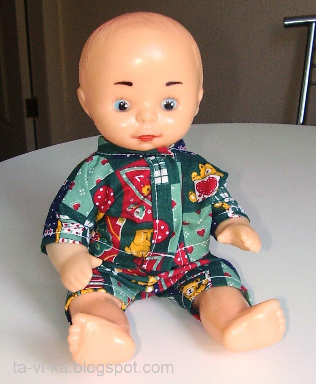 Костюм для куклы своими руками на новый