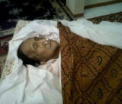Foto HIM Damsyik meninggal dunia