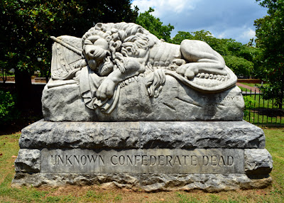 The Confederate Lion of Atlanta, Historic Oakland Cemetery
