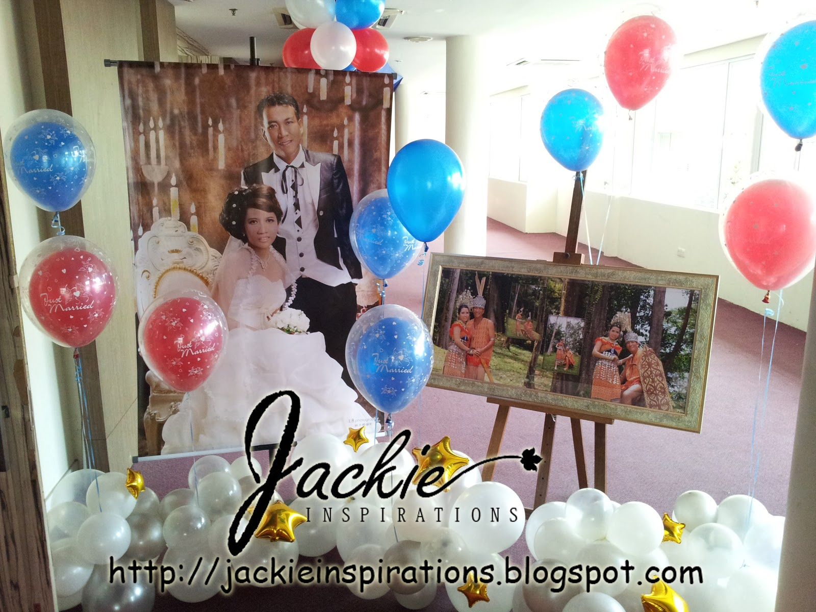 Balloon decorations for weddings birthday parties balloon the regency rajah court hotel wedding decoration junglespirit Choice Image