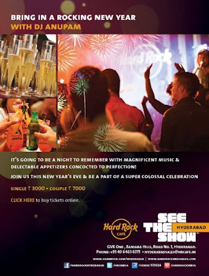 New year  parties hyderabad