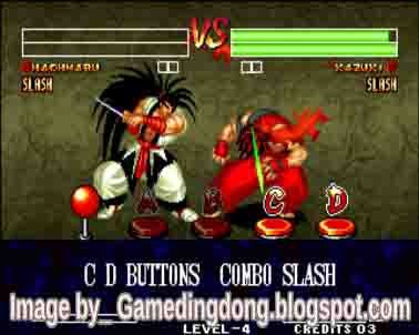 games ding dong samurai shodown 4