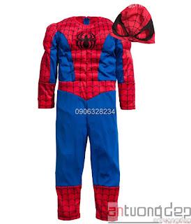 bán cho thuê trang phục spiderman