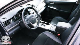 2012 Toyota Camry SE Invoice Price Interior