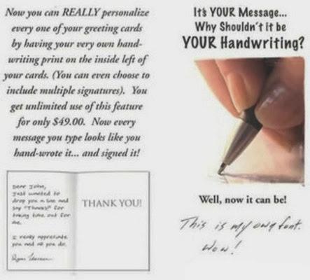 Realistic Handwriting Font