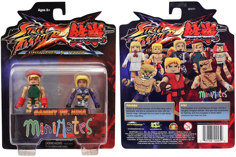 Street Fighter Tekken Minimates