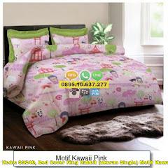Harga Bed Cover King Rabbit (ukuran Single) Motif Kawaii Jual