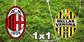 Milan 1-0 Hellas Verona