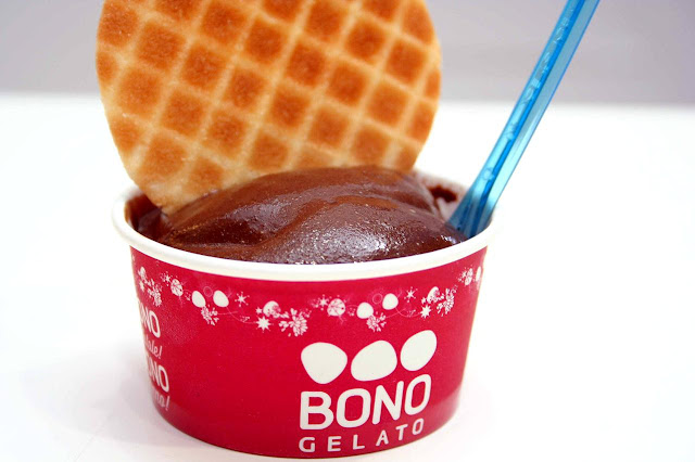 Butterbeer and Chocolate Cognac at BONO Artisanal Gelato