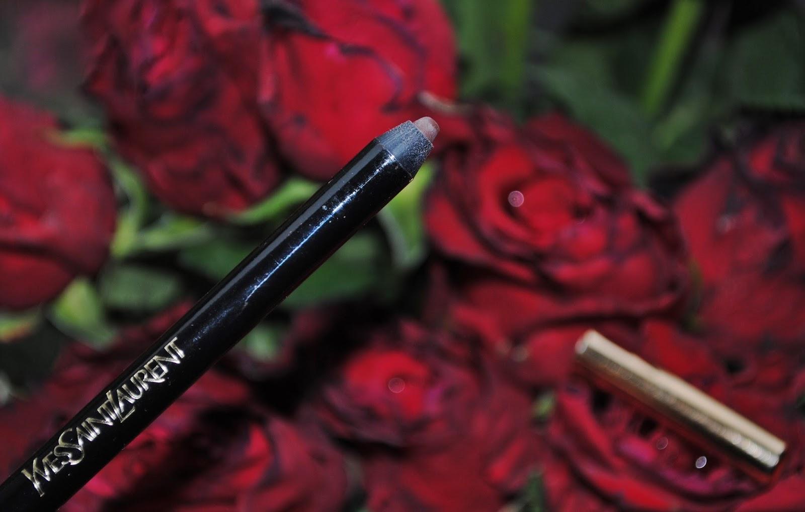 Kredka YSL Dessin du Regard, Patent Leather beautypediapatt.blogspot.com