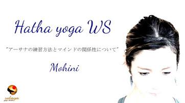 10月15日(日) Hatha Yoga WS/Mohini先生