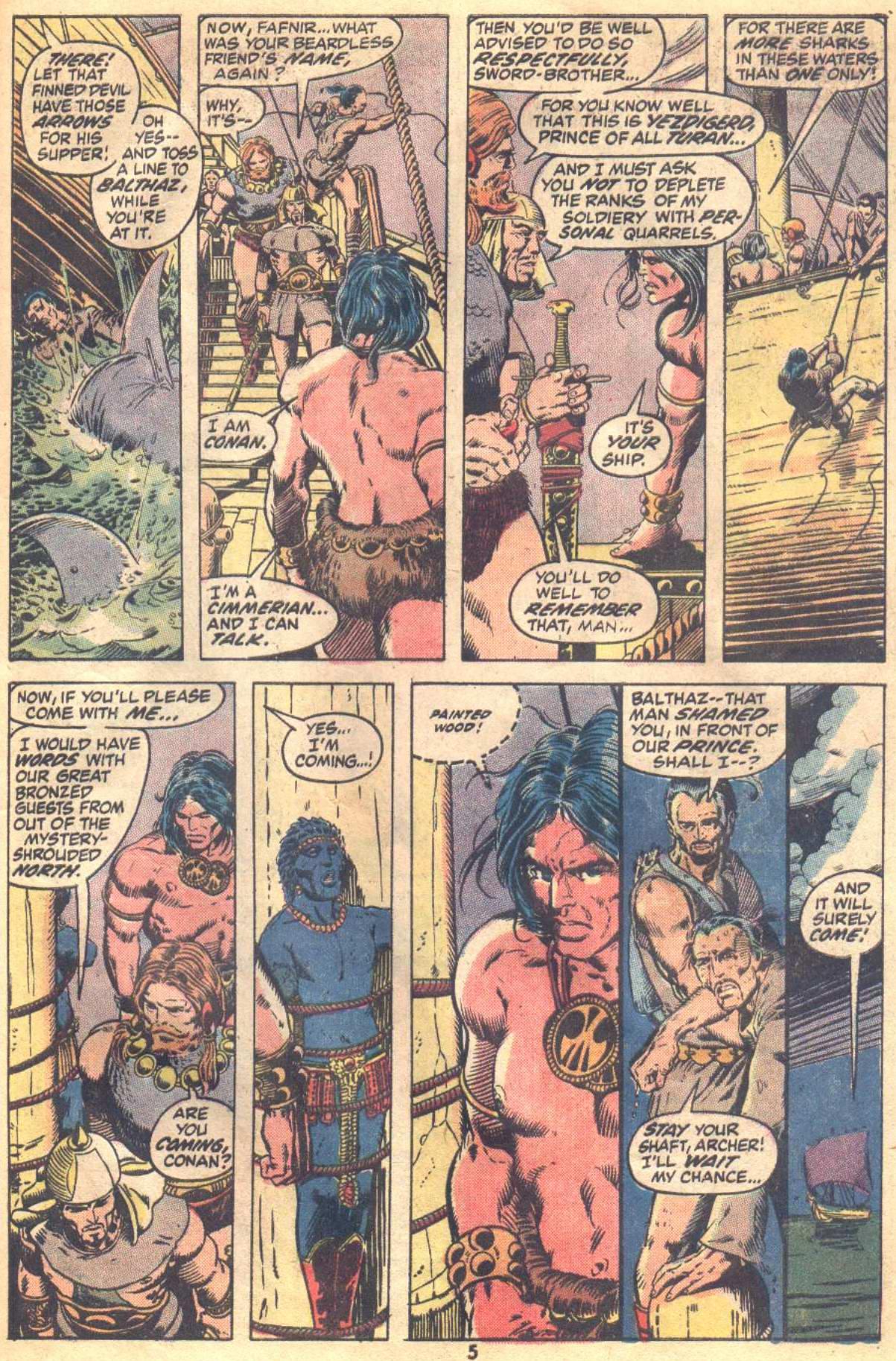Conan the Barbarian (1970) Issue #19 #31 - English 5