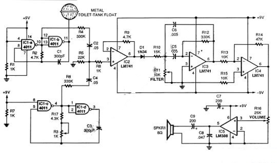 Swell Single Chip Theremin Circuit Diagram Supreem Circuits Diagram And Wiring 101 Capemaxxcnl