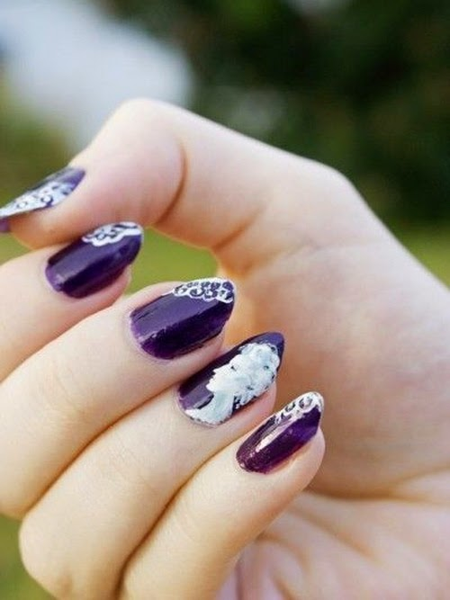 The Amazing 2015 purple nail art designs Digital Photography