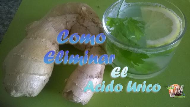 ELIMINAR EL ACIDO URICO CONSEJOS