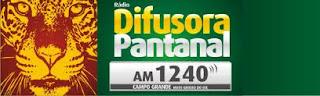 ouvir a Rádio Difusora Pantanal AM 1240,0 Campo Grande MS