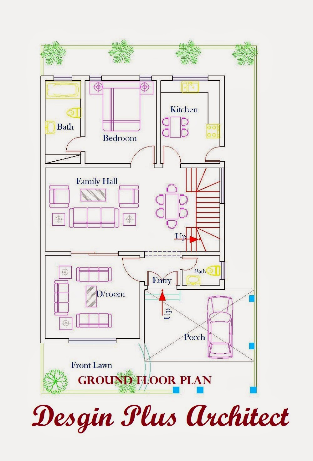 Home Plans In Pakistan  Home Decor  Architect Designer   d Home Plan d home plans
