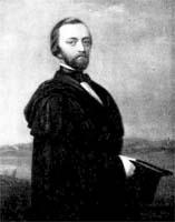Gunnar Olof Hyltén-Cavallius, Gemälde von N. J. Ollson Blommér, 1847, Foto: SPA, Schwedisches Reichsarchiv