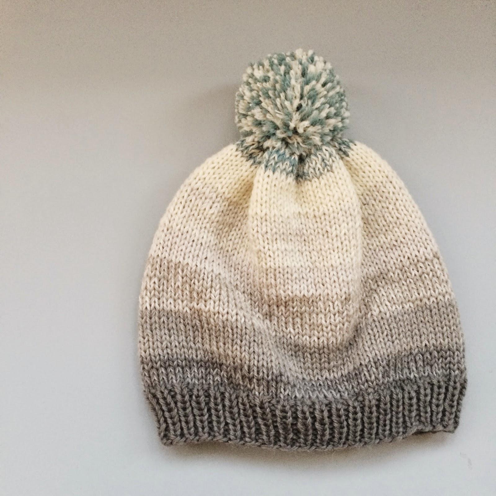 Bobs Beanie - free knitting pattern (in danish) from Meraki