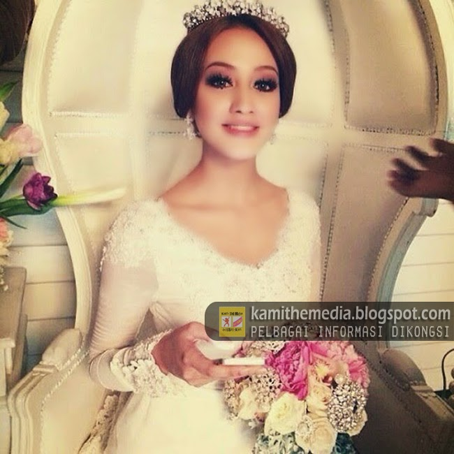 Foto Pra Perkahwinan Nur Fathia Yang Manis Jelita