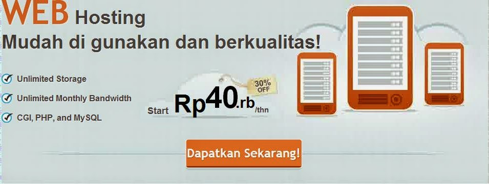 Hosting Unlimited dan Domain Murah di Indonesia