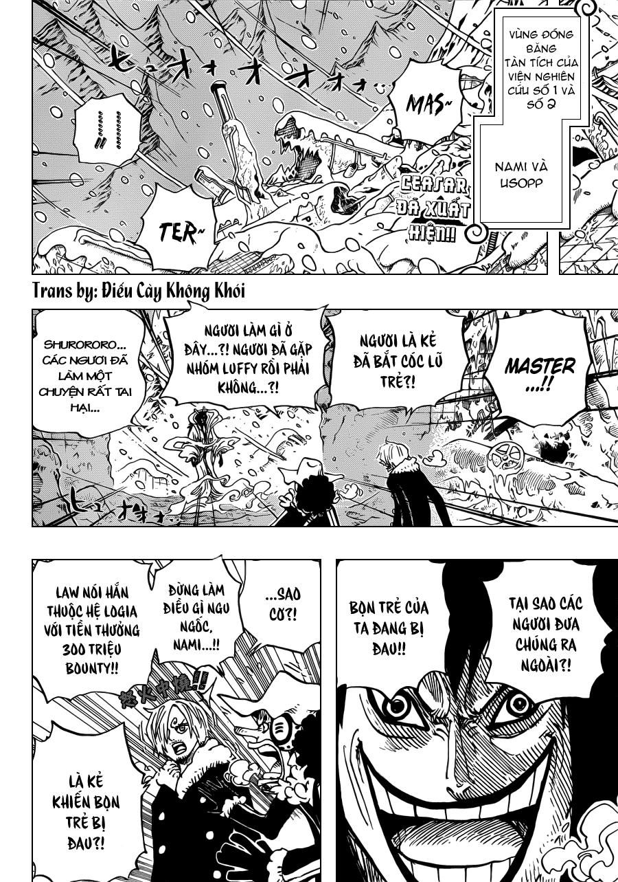 One Piece Chapter 674: Khán giả 002
