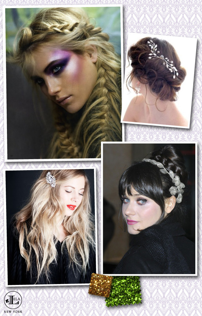 Once Upon A Time Fairy Tale Wedding Hair Inspiration