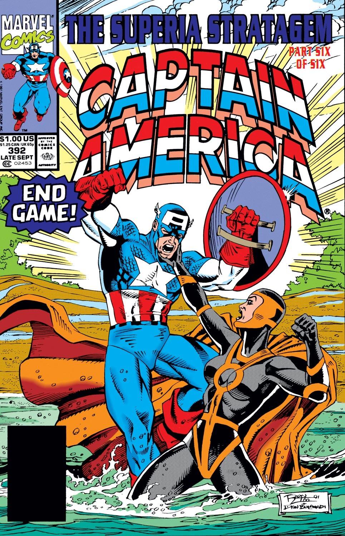 Captain America (1968) Issue #392 #325 - English 1