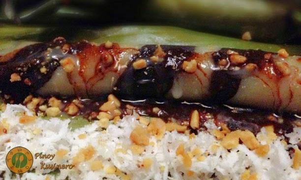 Suman Moron (Twisted Sticky Rice Cake) Pinoy Kusinero